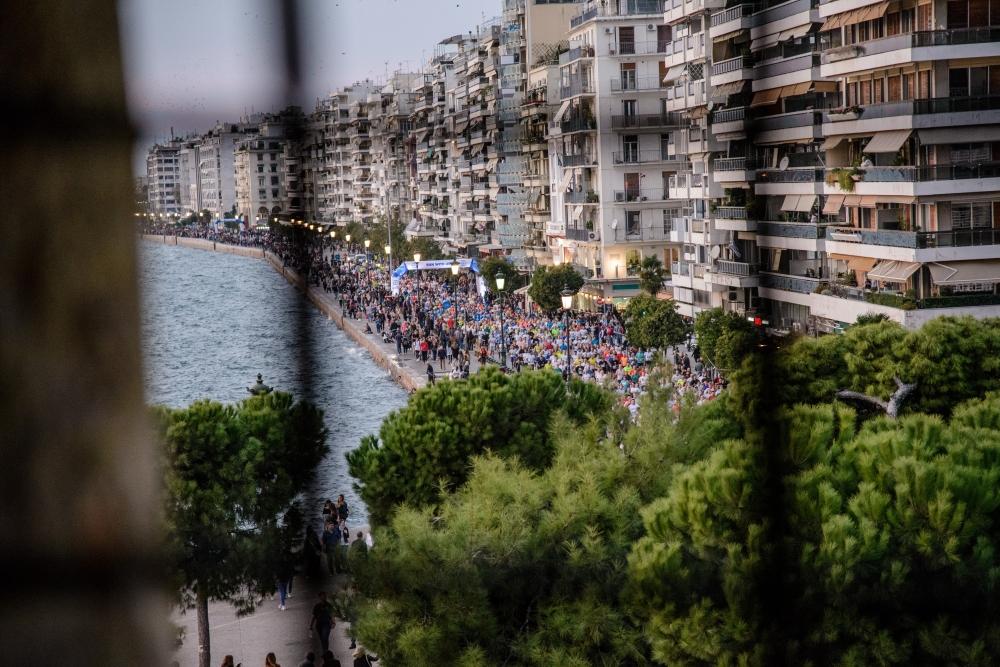 Thessaloniki Night Half Marathon is...
